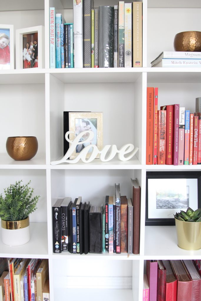 Style At No.5 Bookshelves in Sitting Room