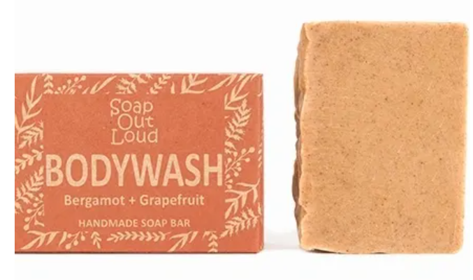 Soap out loud body wash.