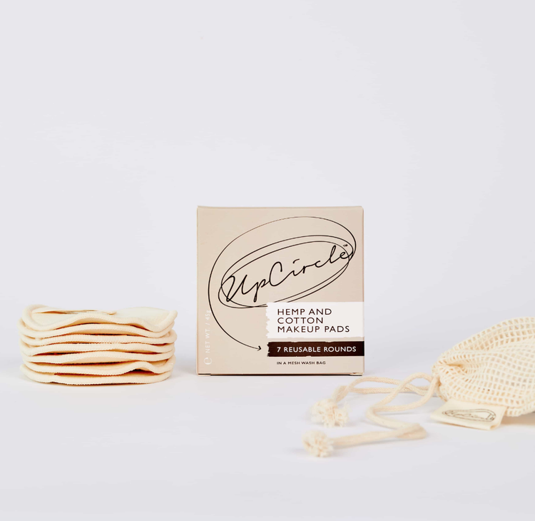 Hemp and Cotton makeup pads from Duo Ireland
