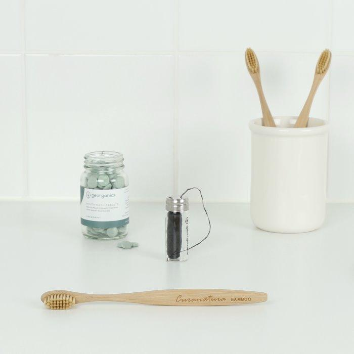 Bamboo toothbrush from Duo Ireland another sustainable beauty swap