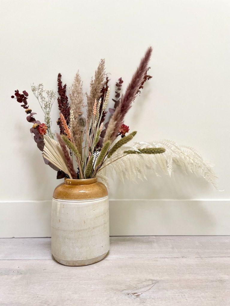 The Wilds Enniscorthy dried bouquet