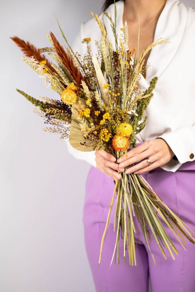 One More thing dried bouquet