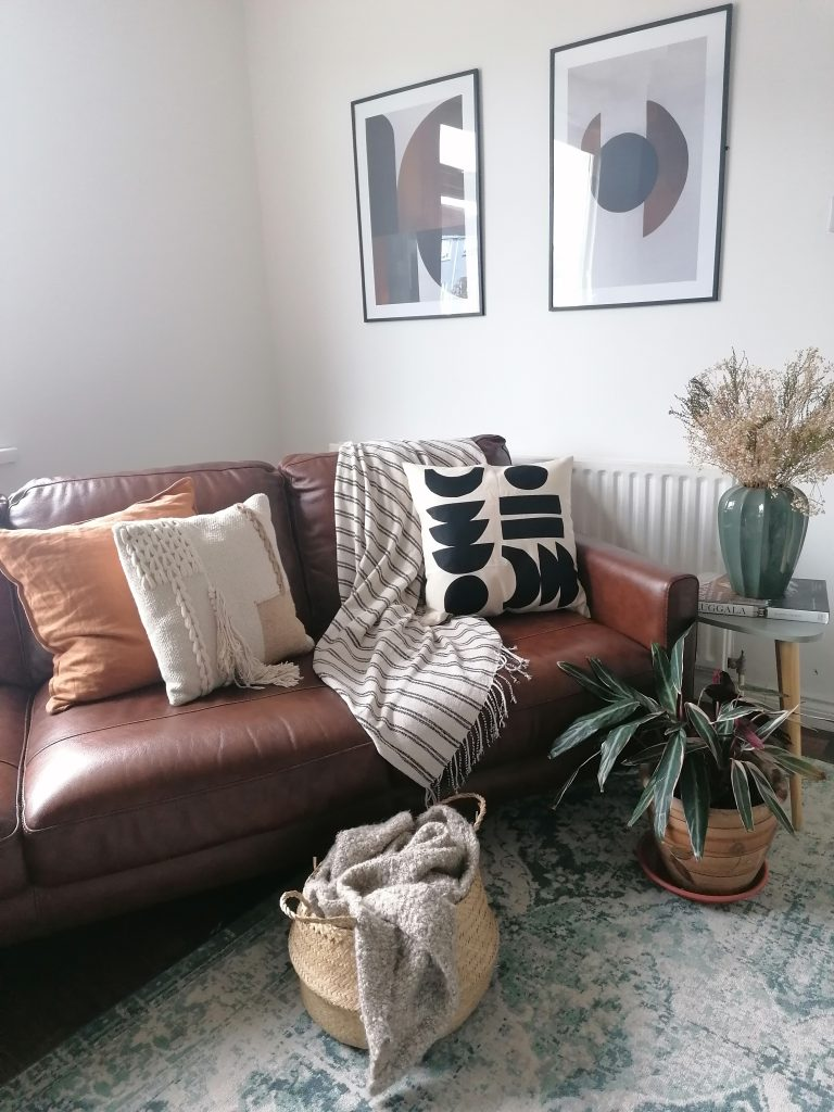 update your home for Spring with new cushions and throws