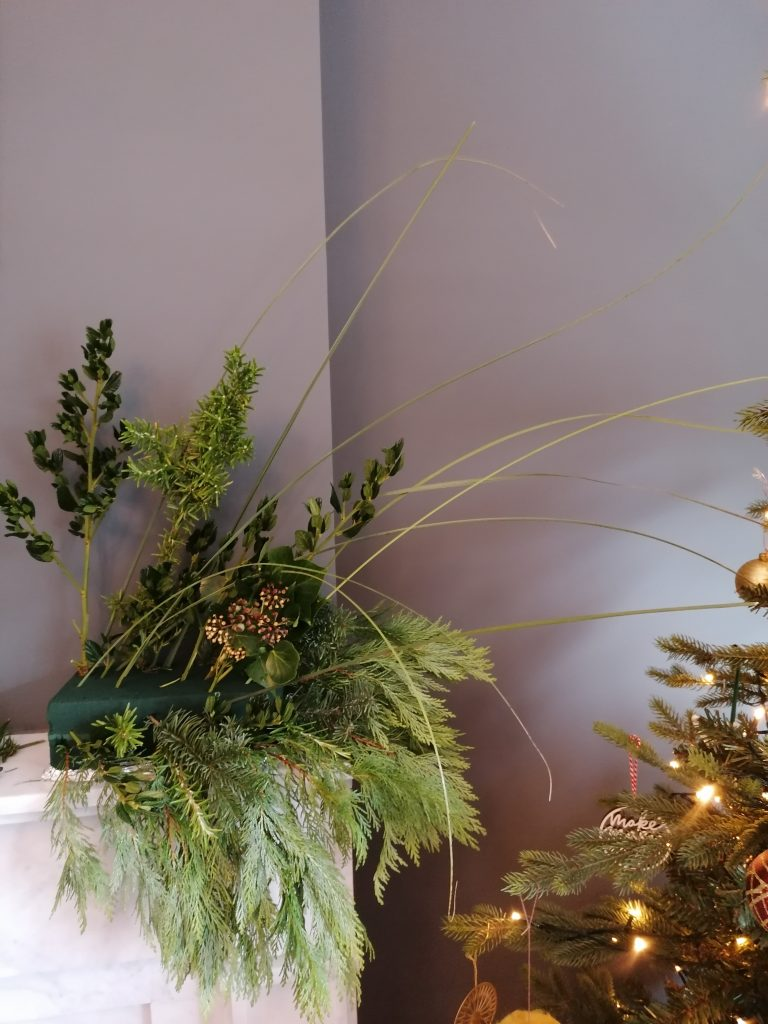 Start of the Natural Christmas display from @styleatno5
