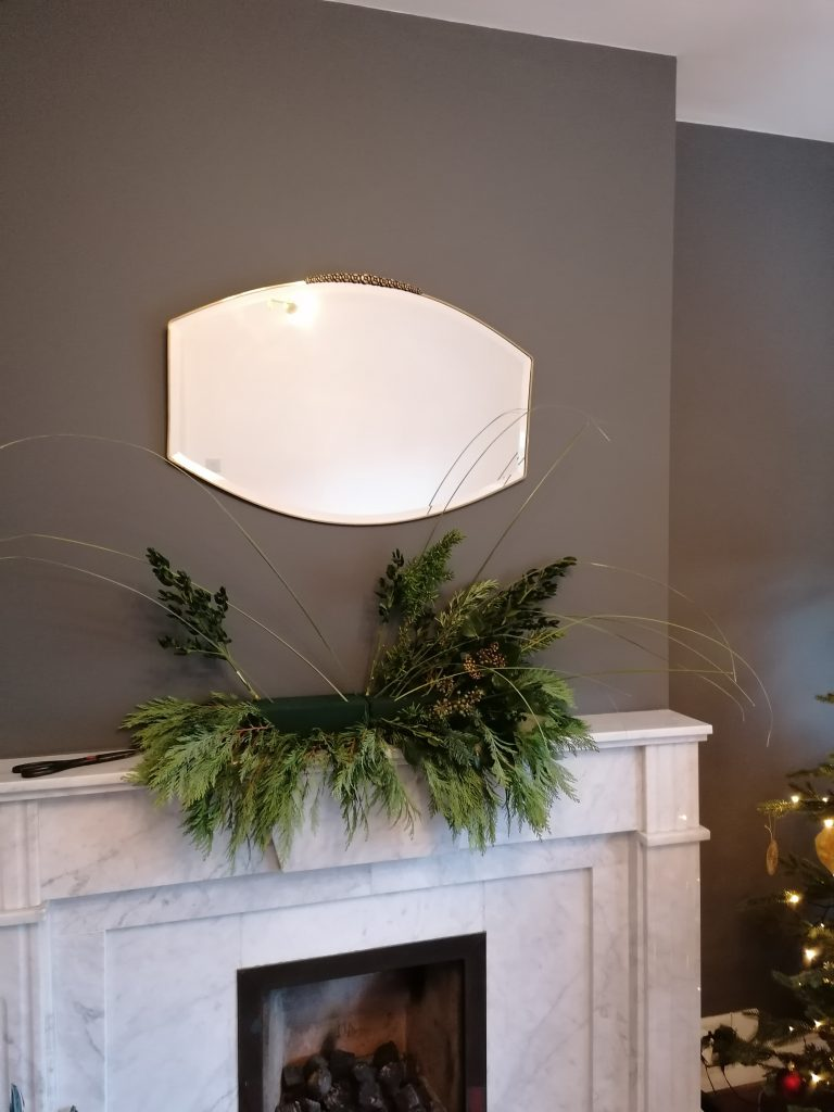 Half finished display with some more greenery needed from @styleatno5
