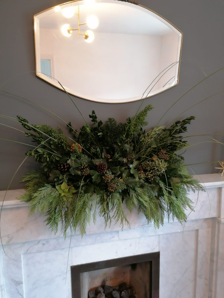 The Natural Christmas display without the orange rounds from @styleatno5