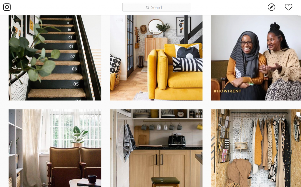 Medina Grillo on Instagram. Images from her feed and ideas on how to feel happier in your home