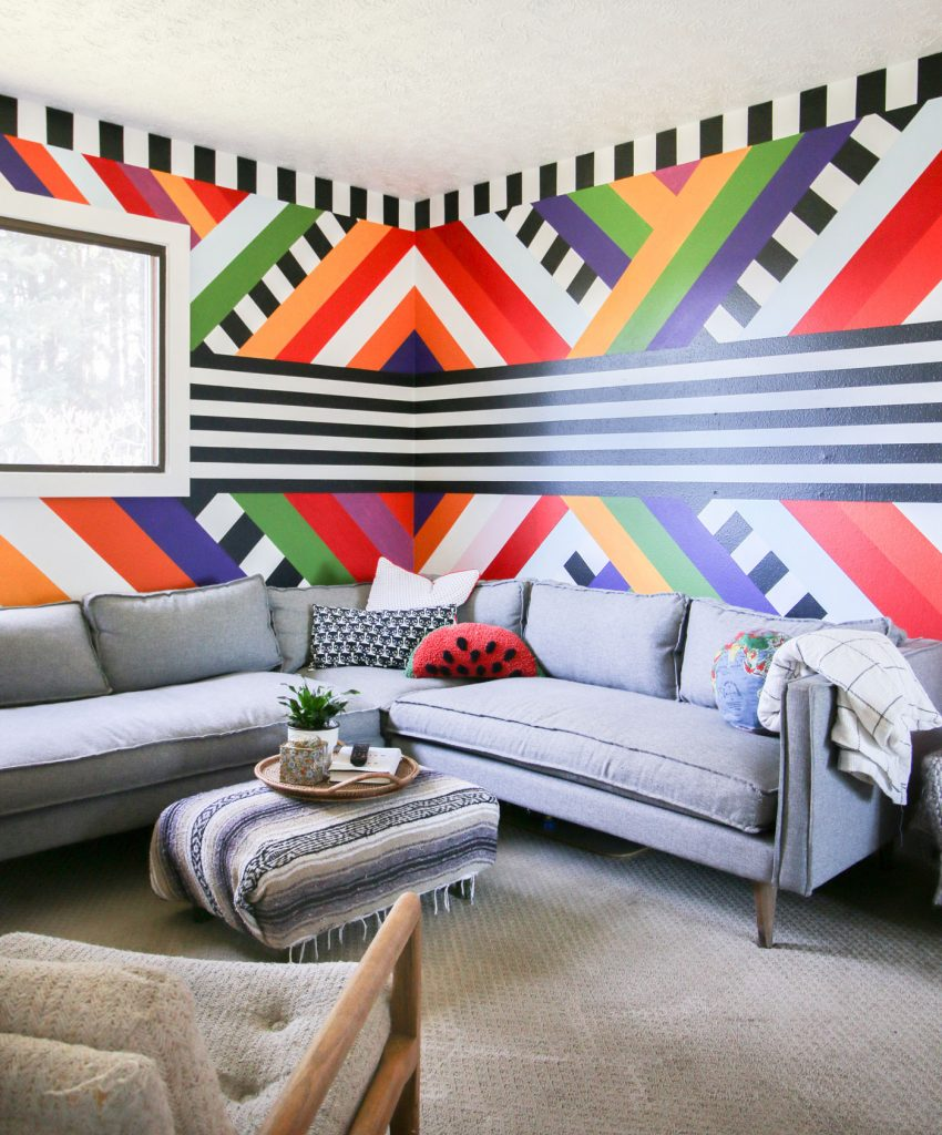 Rachel Jackson mural @banyanbridges on Instagram which updates the Sitting Room