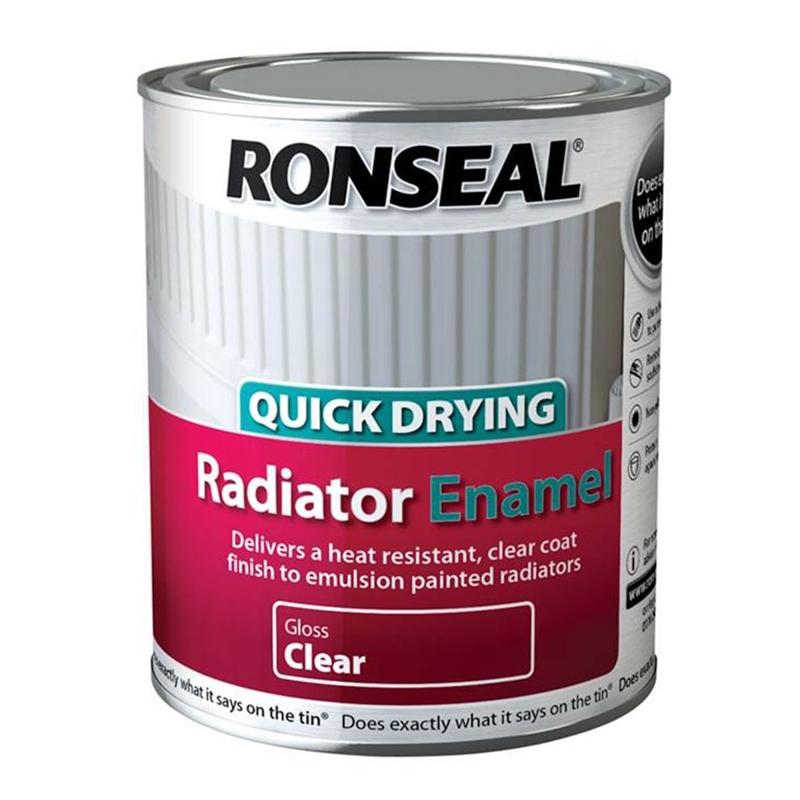 Ronseal radiator enamel