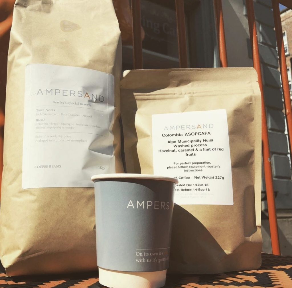 Hook and Ladder coffee bags Ampersand