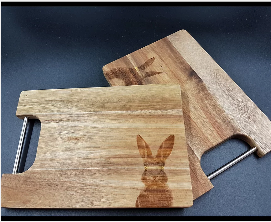 Wooden chopping board available in By Design - A Local Story - Limerick Gift Guides