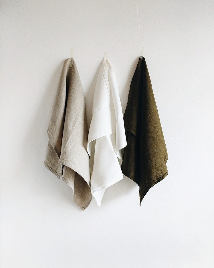Linen tea towels from 31 Chapel Lane - Limerick Gift Guides