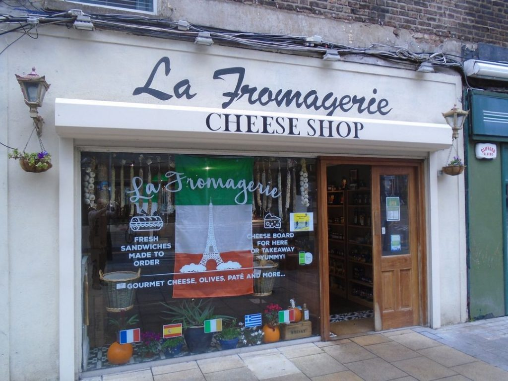 La Fromagerie cheese shop for gifts