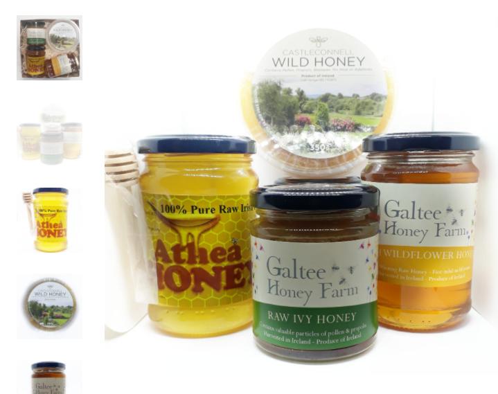 Honey gift set from Eats of Eden in Limerick
