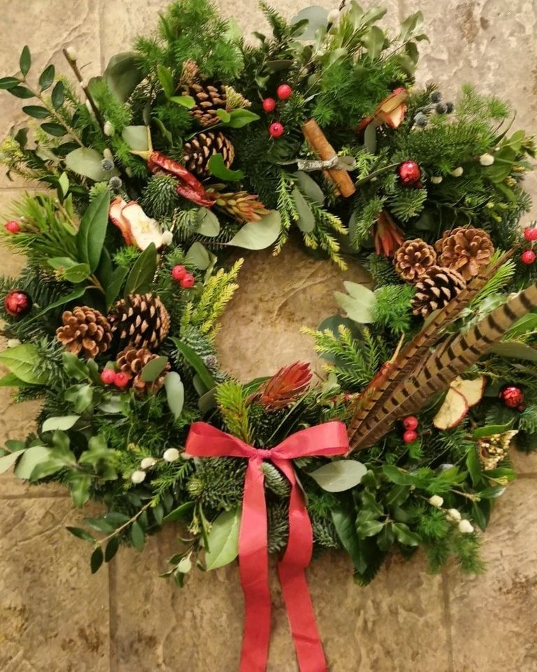 Flowers by Karen Christmas wreath Limerick Gift Guides
