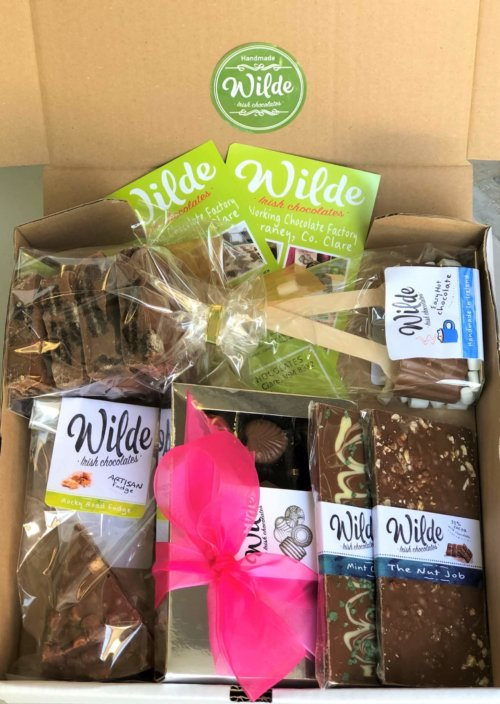Wilde Chocolates gift set