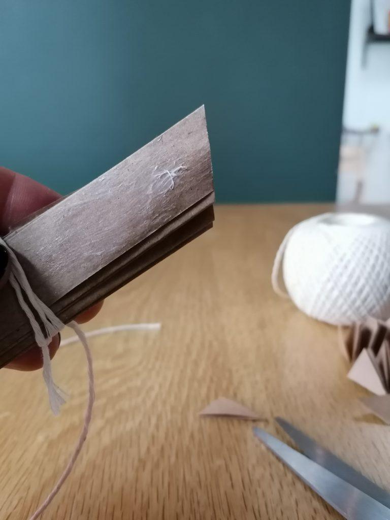 glue on one edge