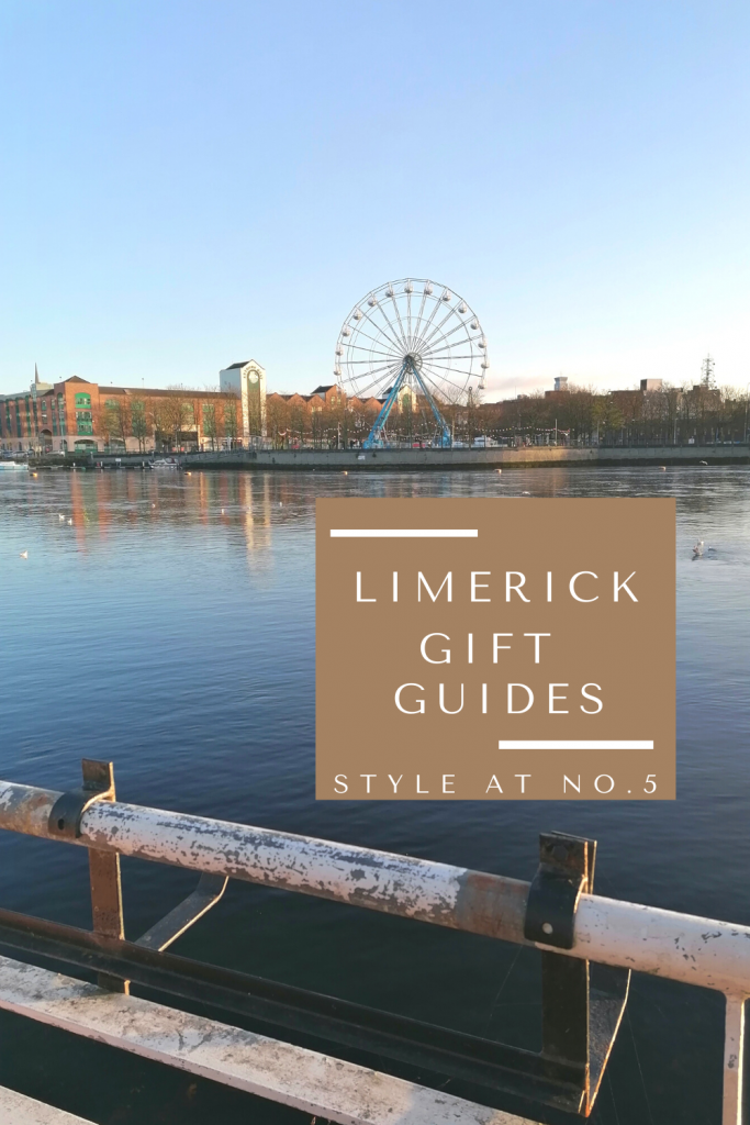 Limerick Gift Guide pinterest graphic