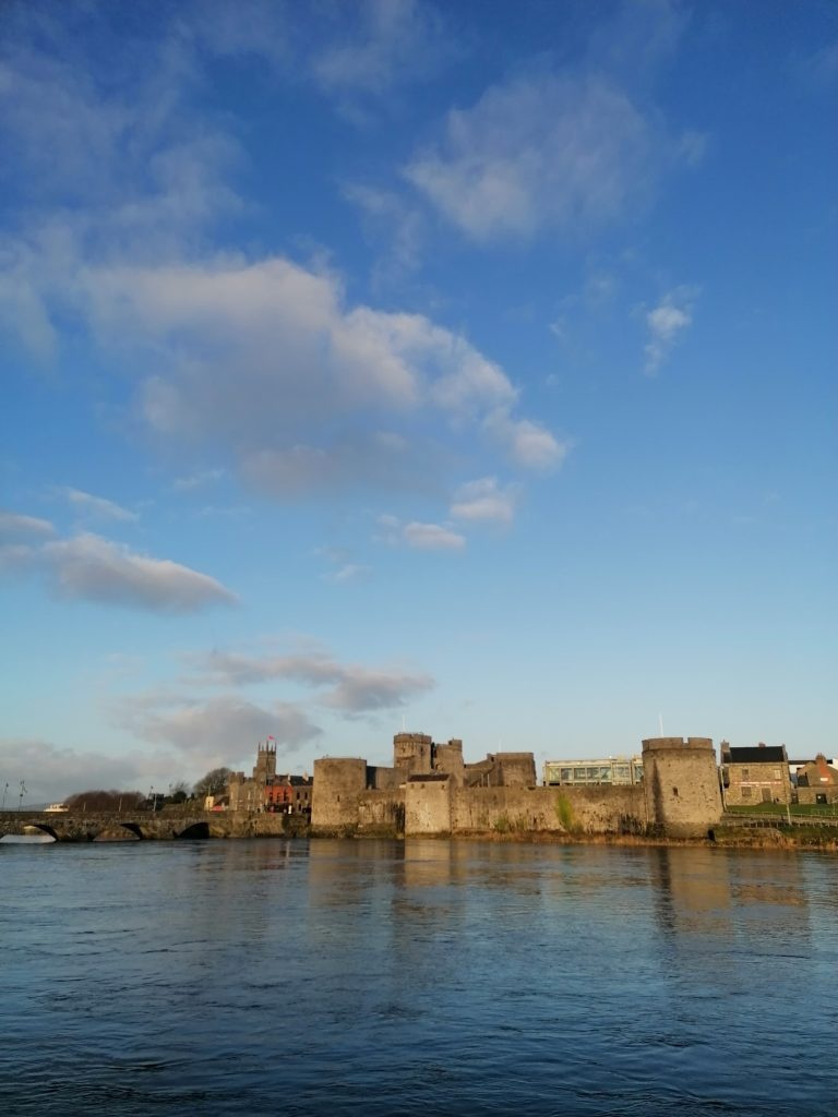 View of Limerick across the river