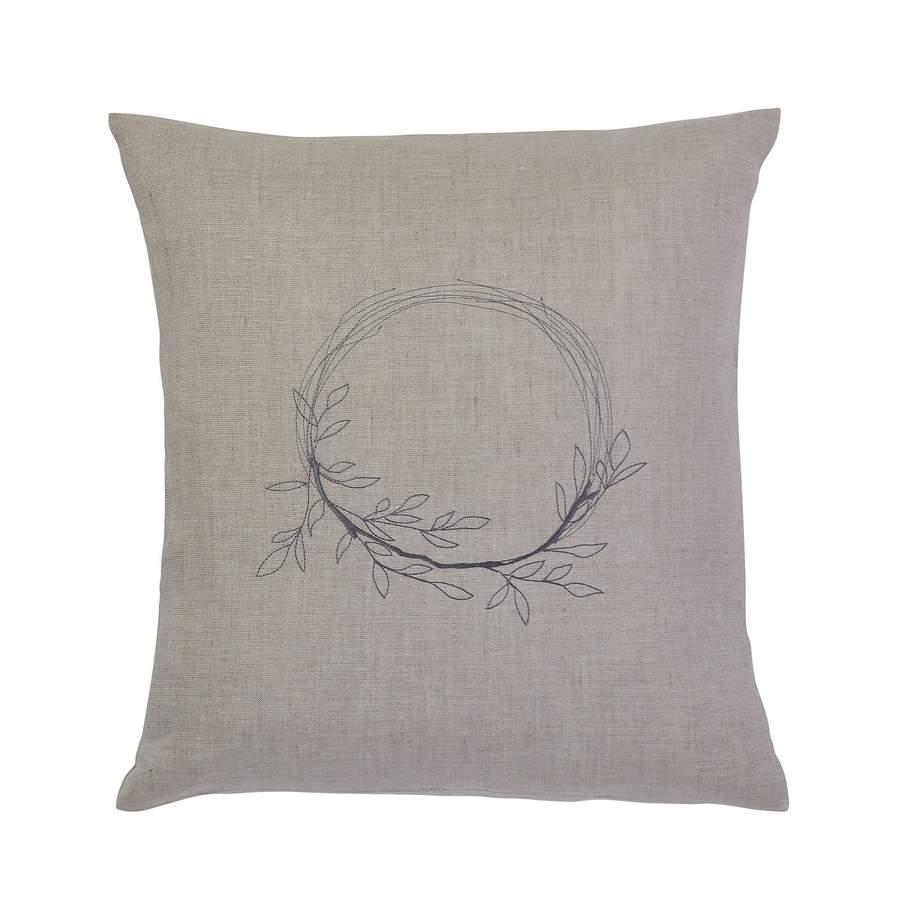 Irish linen cushion from Irish Linen House