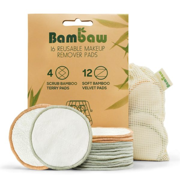Bambaw cleaning pads from Little Green Shop.