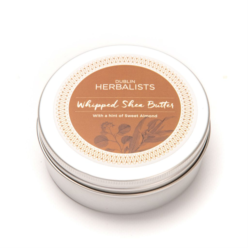 Body butter, 100% vegan from the Dublin Herbalist company
